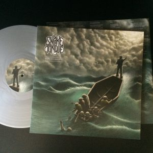 Snake Tongue LP Silver