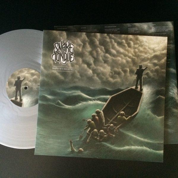 Snake Tongue LP Silver